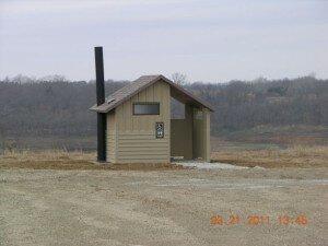 New restrooms at Elk Rock